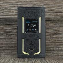 Текстурный чехол для VooPoo X217 217W TC Box Mod, защитный силиконовый чехол накладка для VOOPOO Вуди Vapes X 217