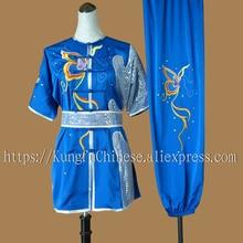 Chinese wushu uniform Kungfu clothing Martial arts suit match clothes taolu outfit for men girl boy children women kids adults