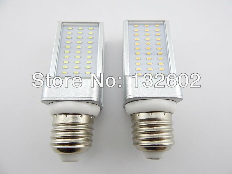 Warm White/Cool White Led 3014 chip lamp energy saving light bulb 33-Leds 4W horizontal plug lamp big E27 screw-mount lamp 15 w e27 cool white 15leds 1w highpower led energy saving cfl bulb lamp spotlight 220v 240v