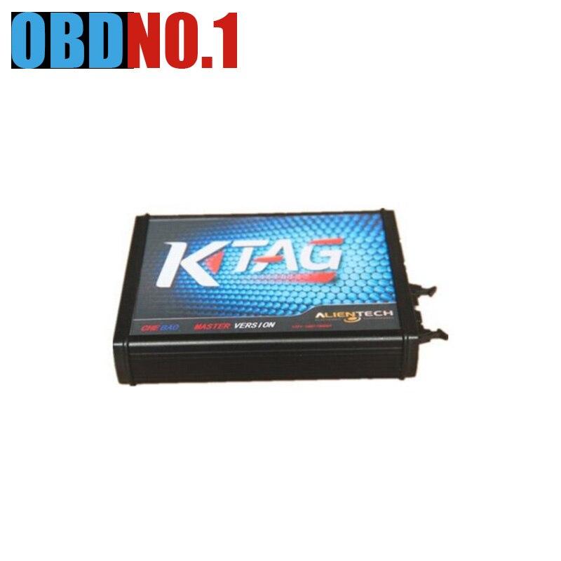 Prix pour [2017 nouveau + Qualité A +] K TAG Meilleur Prix et Un Bon Service KTAG ECU Programmeur ECU Prog Outil Maître Version k-tag pour chiptuning