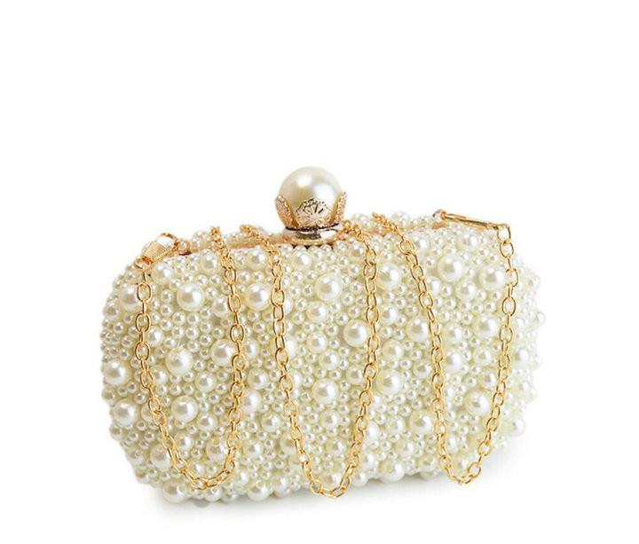 e042a3e578d Rdywbu Best New Noble Female Pearl Clutch Bags Purse 2018 Fashion Beaded  Evening Bag Women Handbag Female Wedding/Party Bags H35