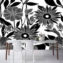 black flowers wallpaper promotion shop for promotional black flowers