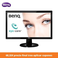 Benq GL2250 LCD Monitors, 21.5&#39&#39, 1920 x 1080 pixels, Full HD, TN LED, 5 ms, Black