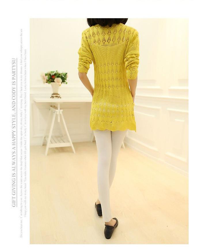 Womens Sweater Spring Jacket Loose Shawl 31