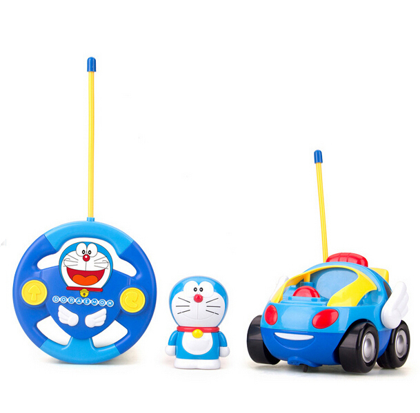 aliexpresscom buy new baby boys girl doraemon remote control electric toys car kids rc car high speed cute cat cartoon musical light child car toy from