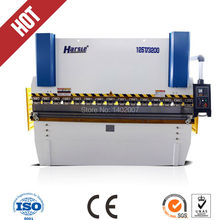 NC Electro hydraulic servo press brake metal plate bending machine