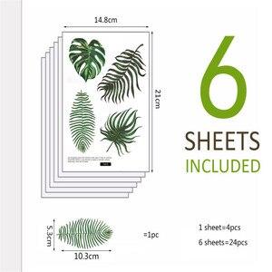 Image 3 - Adhesivos de pared creativos móviles con decoración de pared, decoración de ventanas, adhesivos de pared de verano Hawaii, vinilos decorativos para paredes