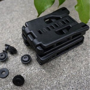 Image 2 - Back Clip Kydex Scabbard Waist Clamp Hunting Camping Belt Clip Gear Multi function K Sheath Accessories