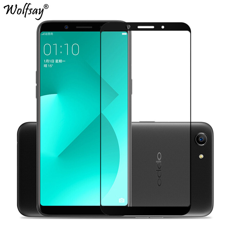 Glass OPPO A83 Screen Protector OPPO A 83 Tempered Glass For OPPO A83 Glass OPPO A83 Full Cover Curved Edge Protective Film