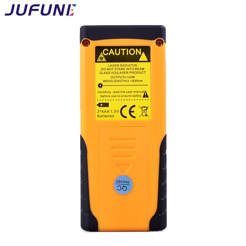 Medidor de distancia láser Jufune 40M 60M 80M 100M telémetro trena - Instrumentos de medición - foto 4