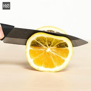 Image 5 - 4pcs Originale Youpin Huohou Coltello Da Cucina Nano Ceramica Coltelli Cuoco Set 4 6 8 Pollici Forno Più Sottile Kit per la Famiglia Cucina E15
