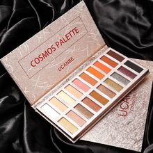Pro Brand Nude Bath Shimmer Matte Eye Shadow Palette Pigmented Glitter Eyeshadows 18 Colors Shadows Maquillaje Sombras Para Ojos