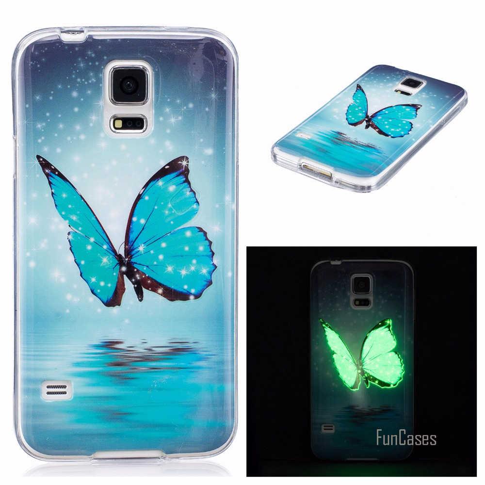 Case sFor coque Samsung S5 Case Silicone Cover For fundas Samsung ...