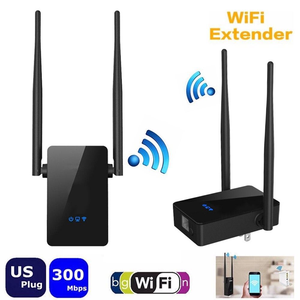 Mini Wireless Repeater 300M WiFi Amplifier Network Router WiFi Signal Range Extender EU US Plug RoZe