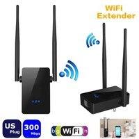 Mini Wireless Repeater 300 M WiFi Router WiFi Signal Range Extender Wzmacniacz Sieci UE Wtyczką AMERYKAŃSKĄ RoZe