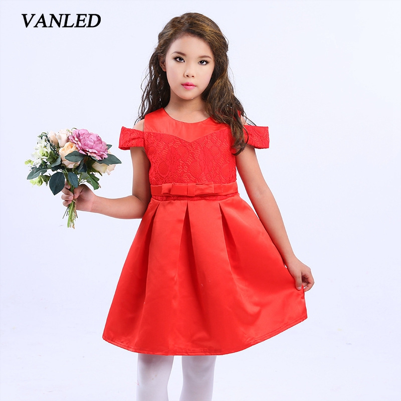 Подробнее о Girl Dress Summer Vest Dresses For Girls Solid Bow Children Casual Clothing Kids Clothes Baby ToddlerClothing Robe Fille Enfant baby girl dress 2016 brand girls summer dress children clothing lemon print kids dresses for girls clothes robe princesse fille