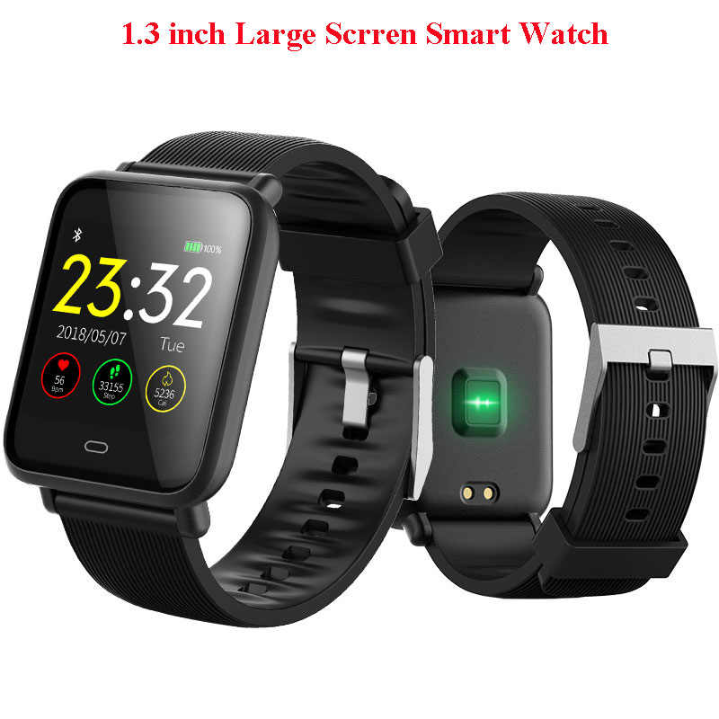 "1.3""Large Screen Smart watch Activity Fitness tracker Heart rate monitor bracelet Wristband Men women smartwatch For Android Ios"