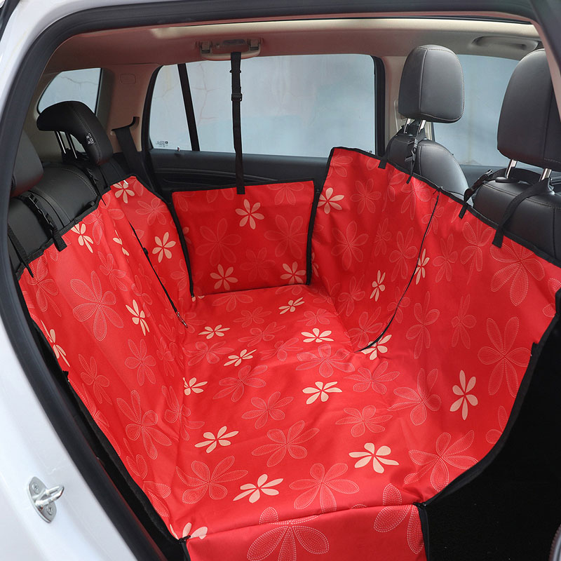 Image 4 - HJKL Oxford Pet Car Seat Covers Waterproof Back Bench Seat Car Interior Travel Accessories Car Seat Covers Mat for Pet Dogs 65Dog Carriers   -