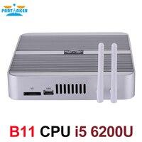 Partaker 6th Gen Fanless Skylake Core I5 6200U Processor Mini PC Windows 10 With Graphics HD