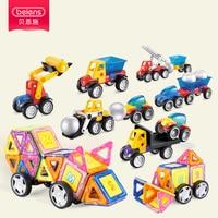 Beiens Mini Toy Bricks 52PCS Magnetic 3D Building Block Construction Model DIY Educational Toys For Children