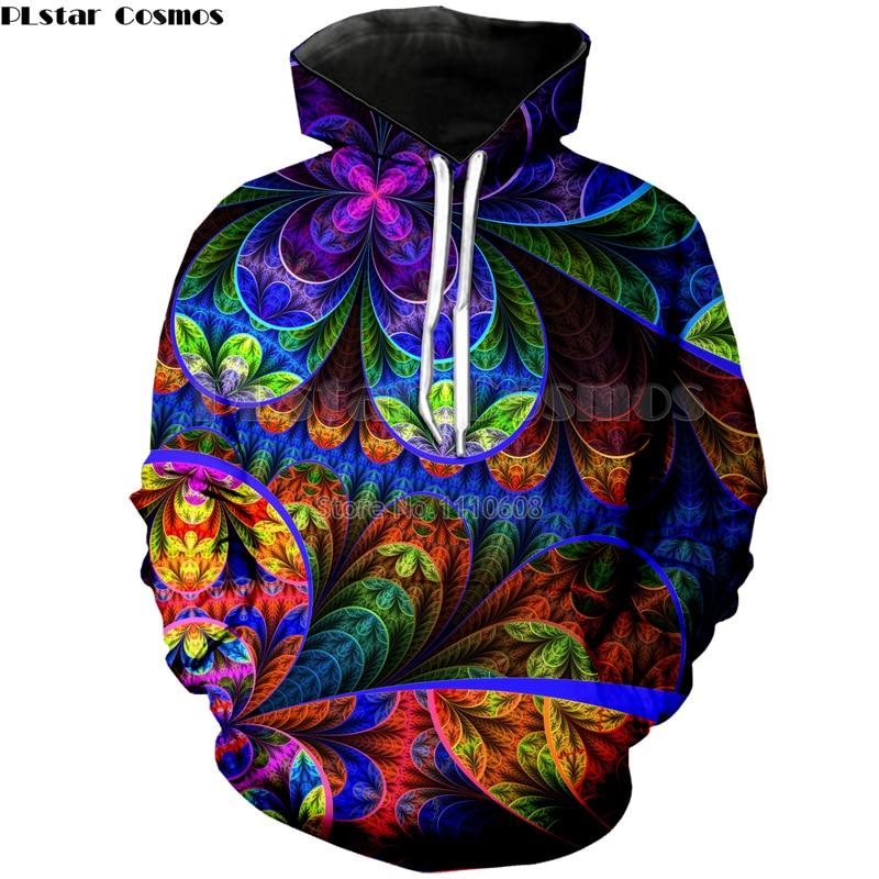 PLstar Cosmos Skull Men's Hoodies Sweatshirts 3D Printed Funny Hip Hip Hoodies Novelty Streetwear Hooded Autumn Jackets Mens Top