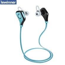 Новый lewinner s5 Bluetooth Наушники Беспроводной Спорт Bluetooth Наушники с Микрофоном с Шумоподавлением Гарнитура Английский Голос Наушники