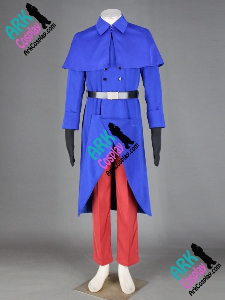 Hetalia Cosplay Costumes France Francis Bonnefeuille Cosplay Blue Mens Hetalia Cosplay Costumes