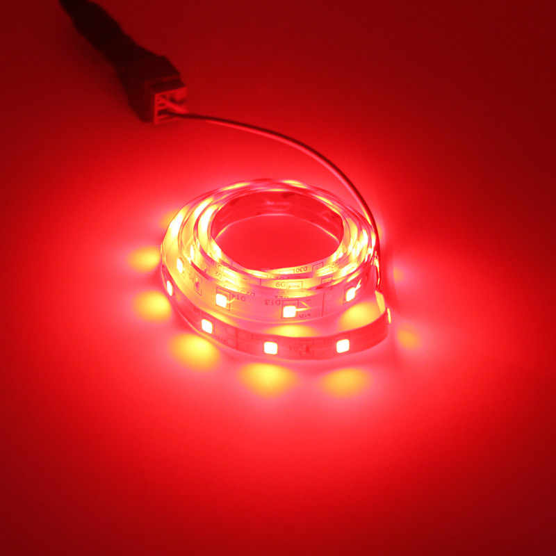 5 M 10 M LED Strip Lampu 2835SMD Tidak Tahan Air Dapat Menyisipkan Mobil TV Komputer Lemari Flexible Light Belt