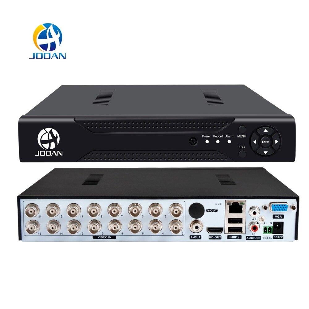 JOOAN 4CH 8CH 16CH DVR CCTV Video Recorder For AHD Camera Analog Camera IP Camera Onvif P2P 2MP Surveillance Video DVR Recorder цена