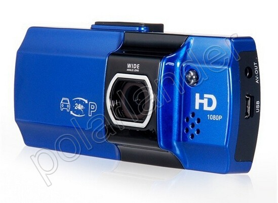 Full HD Car DVR Video Recoder Camera G-Sensor 2.7 inch LCD Night vision Free shipping 148 degree wide angle