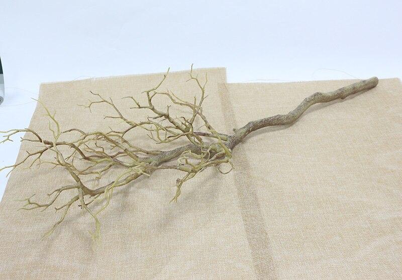 Искусственные цветы Коралловая ветвь искусственный цветок имитация букета растение большая ветка дерева Свадебные вечерние украшения для дома DIY - Цвет: C