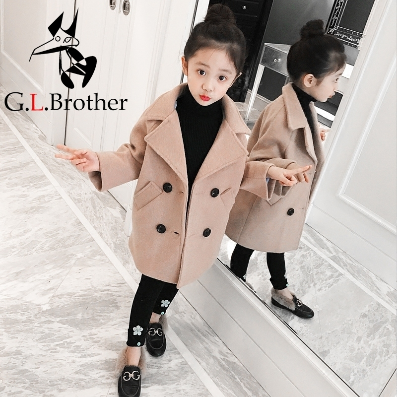 05b1707c8 3-10Years Toddler Girls Winter Jacket Long Parkas Korean Style ...