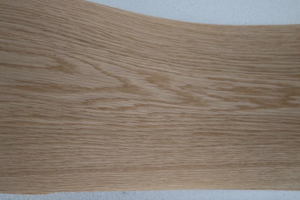 2Pieces L:2.5Meter Wide:150mm Thickness:0.2mm White Oak Wood Veneer Speaker Furniture Veneers(back Side Nonwoven Fabric)