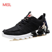 Brand shoes Men canvas Flat Casual shoes men Unisex Net cloth men Air mesh shoes for men chaussure homme tenis feminino