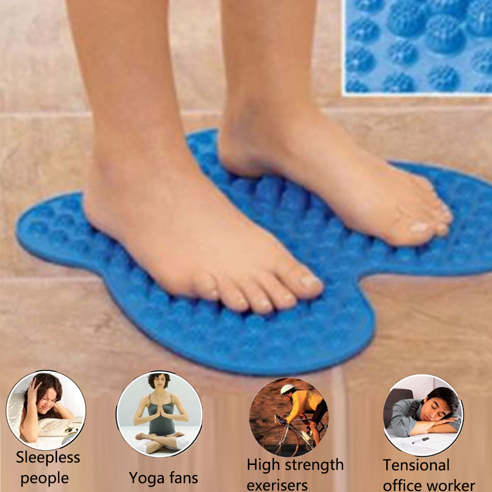 High Quality Foot Massage Pad Reflexology Foot Relief Mat Pain Relieving 2800 Points Massager Pad Acupressure Shiatsu Blanket electric antistress therapy rollers shiatsu kneading foot legs arms massager vibrator foot massage machine foot care device hot