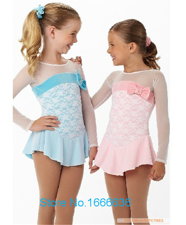 Hot Sales Custom Ice Skating Dress For Girls Beautiful New Brand Vogue Figure Skating Dresses For Competition DR2800