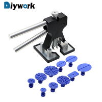 DIYWORK Dent Repair Tools Tabs Dent Lifter Hand Tool Set Dent Removal Puller PDR Toolkit Car Care Accerssories