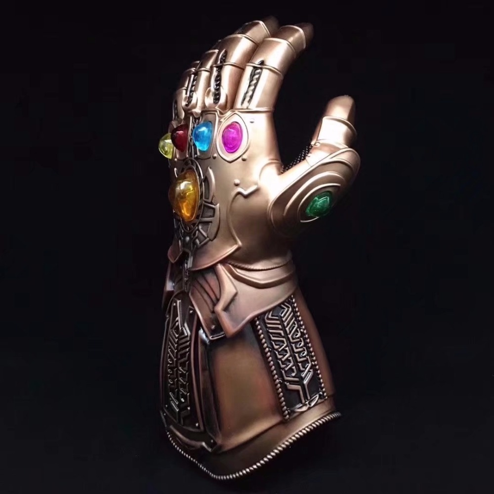 Marvel Avenger Alliance 3 Infinite Glove Thanos Infinite Warfare Glove 1:1 Cosplay Action Toy Figures Collectible Figurines Hot