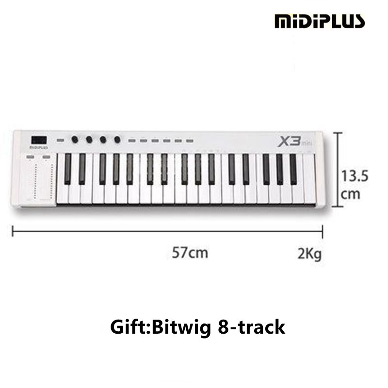 midiplus x3 mini 37 weighted keys usb professional midi keyboard midi controller in electronic. Black Bedroom Furniture Sets. Home Design Ideas