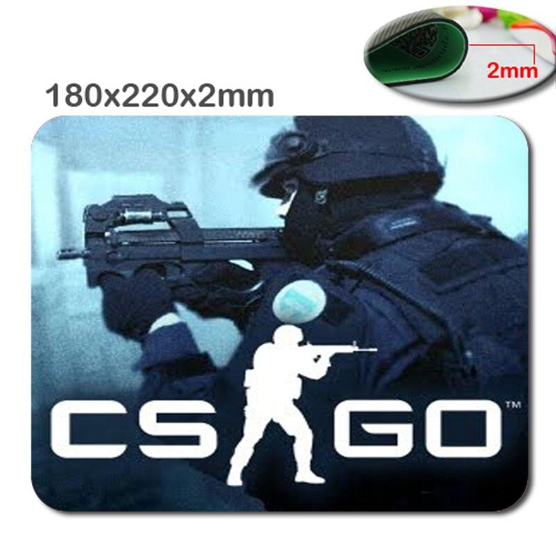 Yeni CS GITMEK Kaymaz hızlı Dizüstü mouse pad baskı cep boyutu 220*180*2mm yüksek DIY yumuşak kauçuk oyun fare serin mouse pad