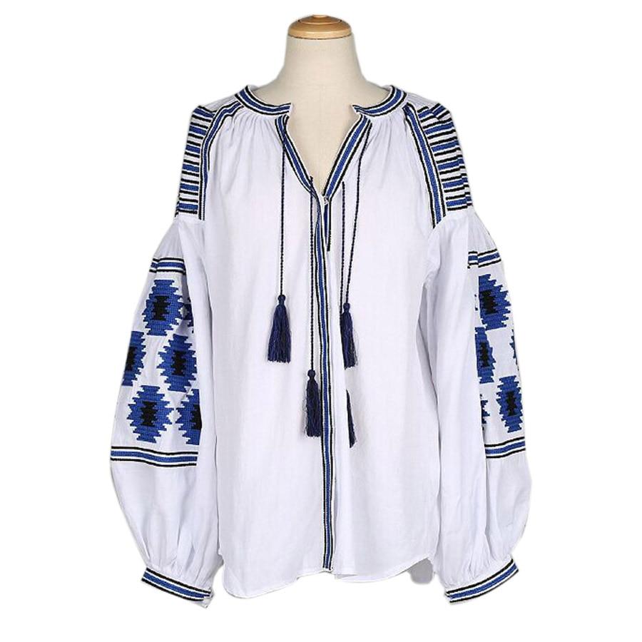 2016 summer style boho embroidery ethnic jackets women lantern sleeve thin shirt coat tassel. Black Bedroom Furniture Sets. Home Design Ideas