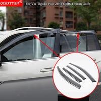 For VW Tiguan Polo Jetta Golf6 Touran Golf7 QCBXYYXH Awnings Shelters Window Visors Sun Rain Shield