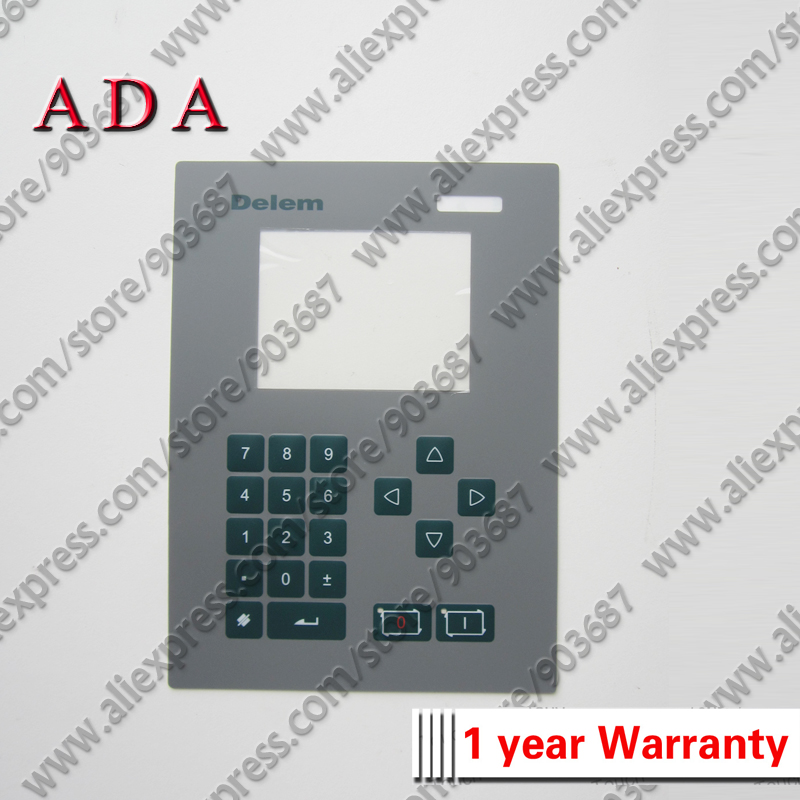 Delem DA41 Bending Machine CNC System Industrial Membrane Switch keypad New Delem DA 41 DA 41