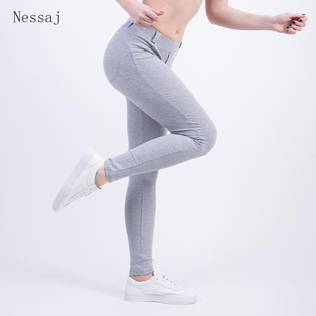 Waist Leggings Push Up Pants Elastic Leggings