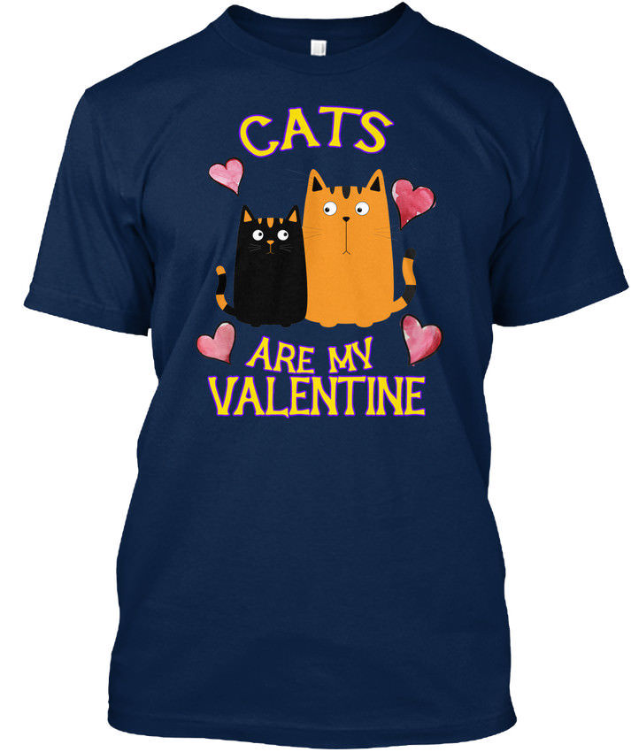 Supersoft Cats Are My Valentine Standard Unisex T-Shirt