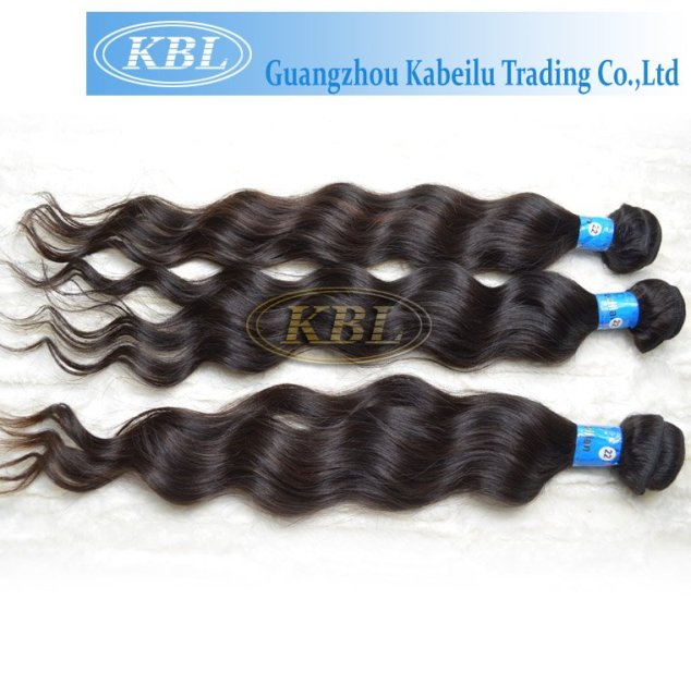 "KBL 100% Virgin brazilian remy human hair extension, 10""-32"" body wave natural color , fast delivery"