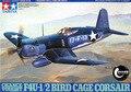 Tamiya 61046 escala de los aviones 1/48 aviones oportunidad VOUGHT F4U-1 / 2 jaula de pájaros Corsair Kit modelo de plástico envío gratis