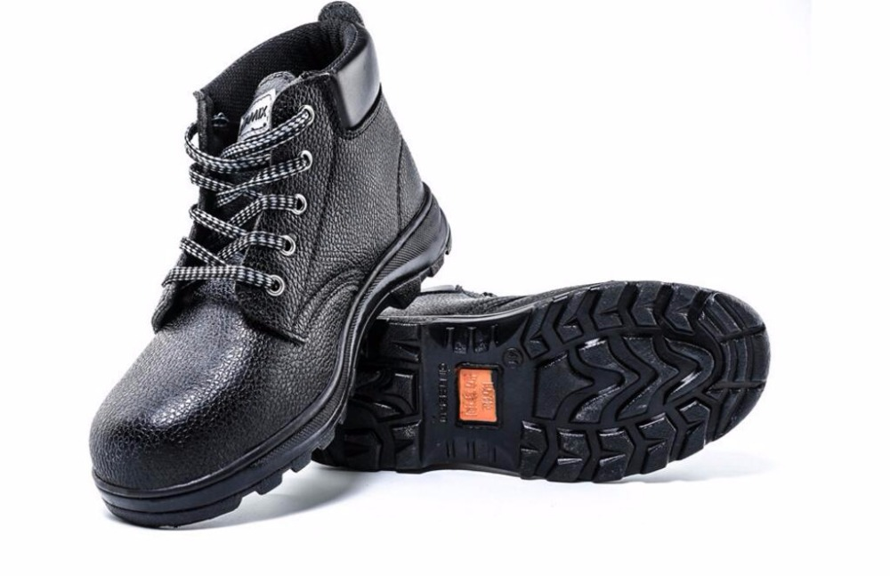 High-protection for men and women, anti-piercing, anti-smashing steel toe cap work shoes tigergrip rubber non slip safety shoe boot cap visitor overshoe anti smashing steel toe cap boot men and women work shoes cover
