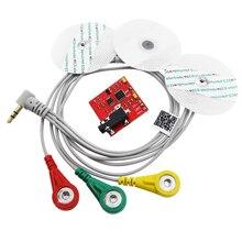 Умная Электроника мышцы сигнал ЭМГ Сенсор модуль Grove интерфейс DIY Kit