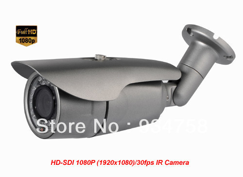 2 Megapixel 1080P 1/3 Panasonic CMOS HD-SDI Waterproof Bullet Camera 4.2mm Lens hd sdi miniature headset bullet camera 1920x1080 30fps